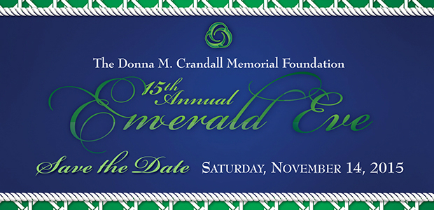The 15th Annual Emerald Eve will be held on Saturday, November 14th. More detail coming soon!