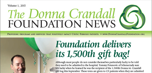 Click here to read the new 2015 Donna M. Crandall Foundation Newsletter